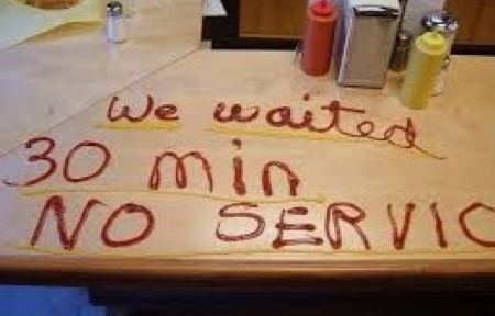 restaurant complaint