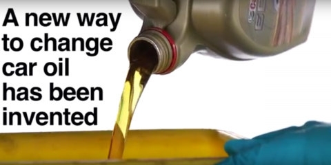 A new way to change car oil unveiled by Castrol