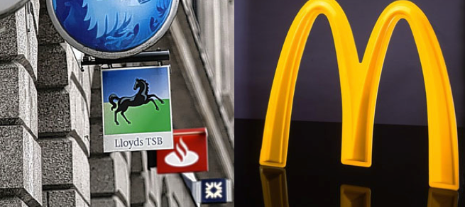 McDonalds v The Banks Has McDonald's been affected by the processed food scandal?
