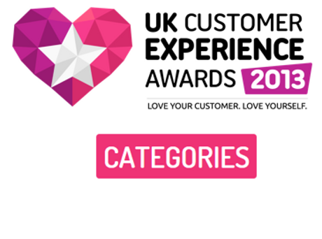 Customer Experience Awards 2013