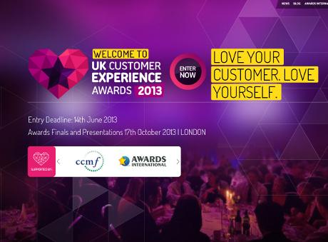 The Customer Experience Awards 2013