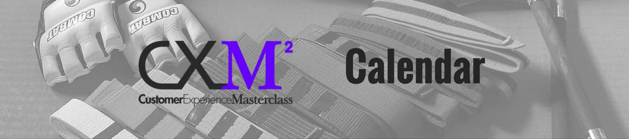 cxmasterclass calendar