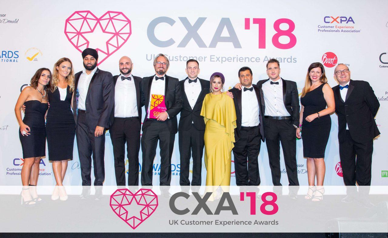 Small Business Champions XLN do Big Things at CX Awards