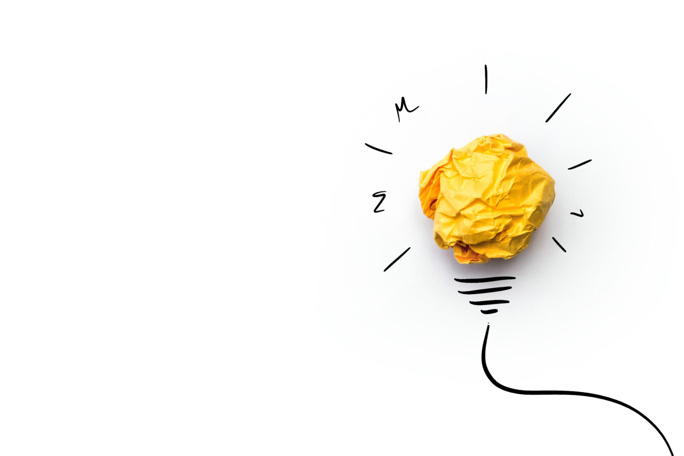 an image of a yellow bulb demonstrating rapid innovation