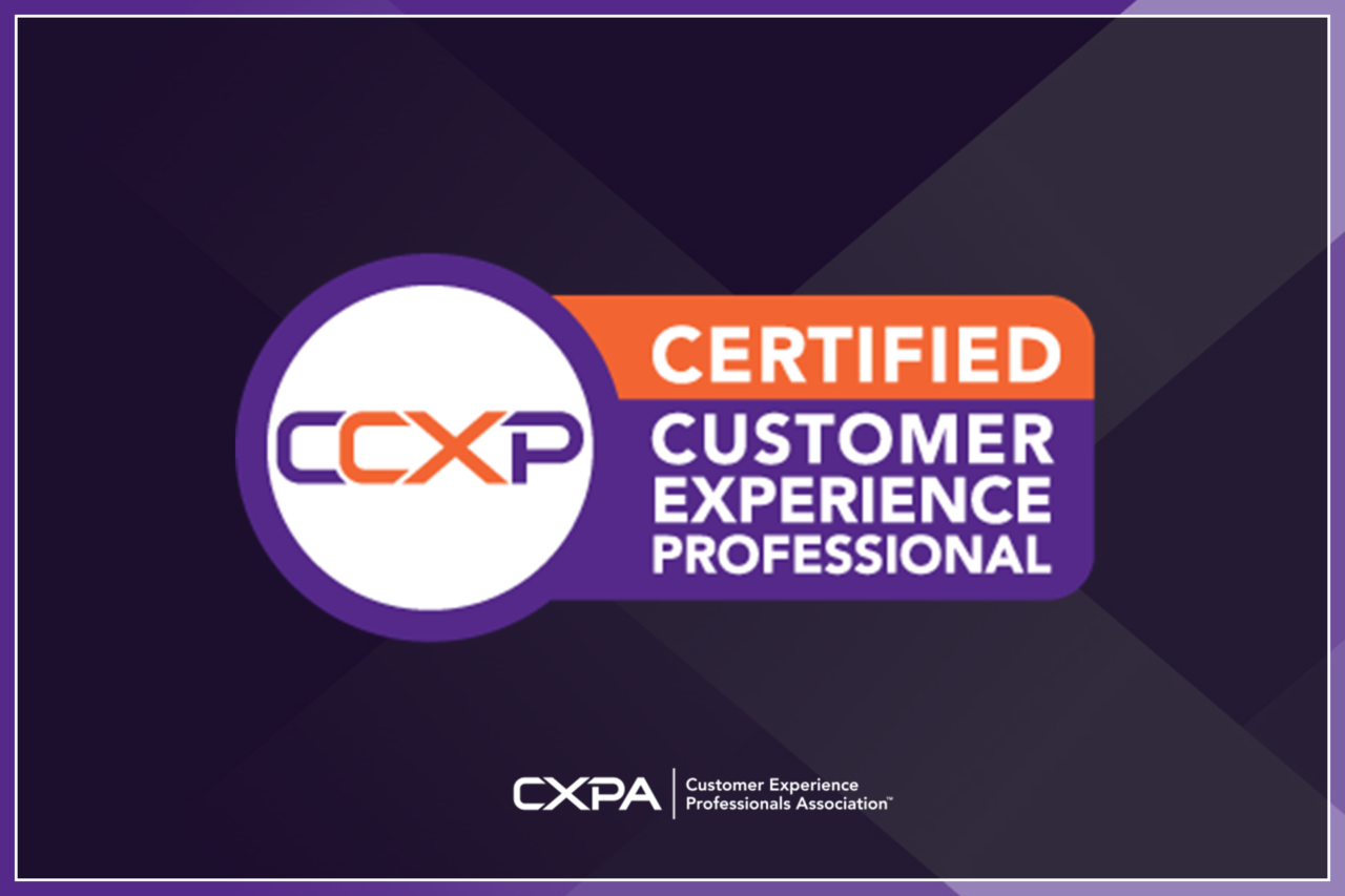 The banner shows the logo of the organization that issues the certification explained in the article My CCXP journey.