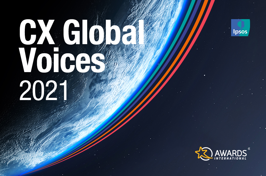 A banner shows the picture of the earth, representing the importance of big CX questions.