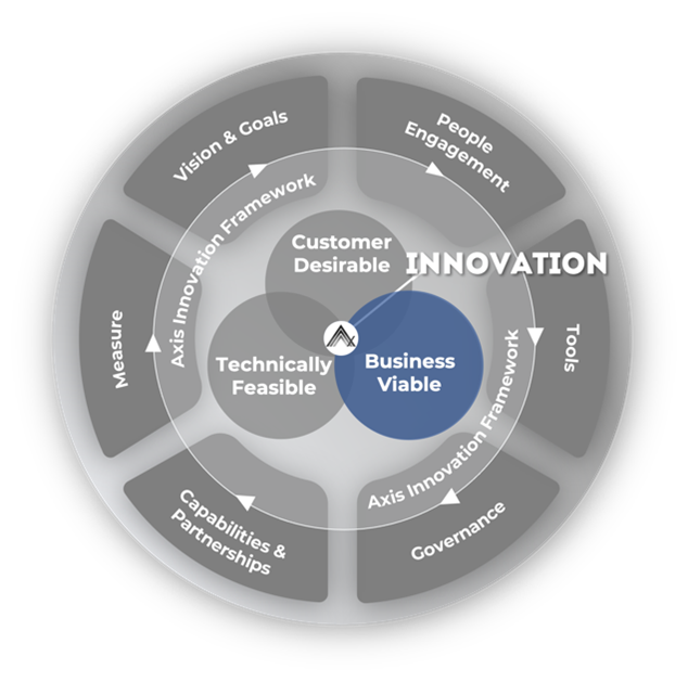 A diagram showing business viability an important part of CX strategy