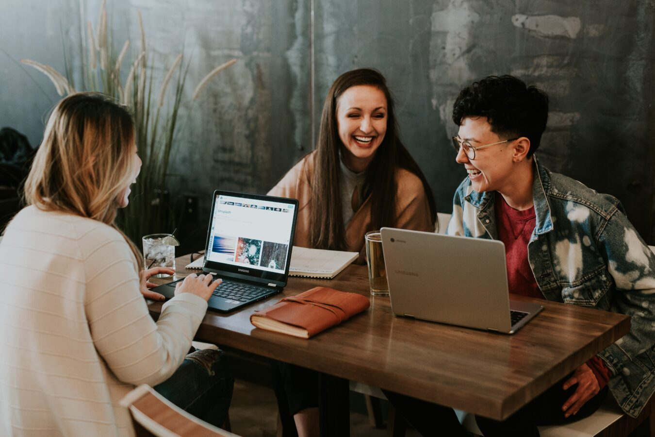 Three people talking about the importance of prioritizing employee experience