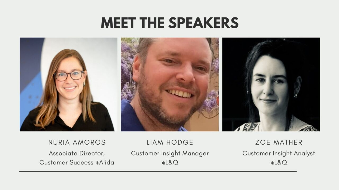Pictures of speakers at the webinar about the transformation of the resident experience.