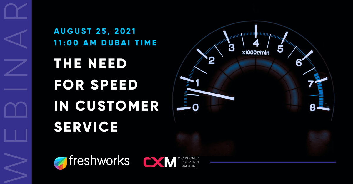 the increasing need for speed in customer service