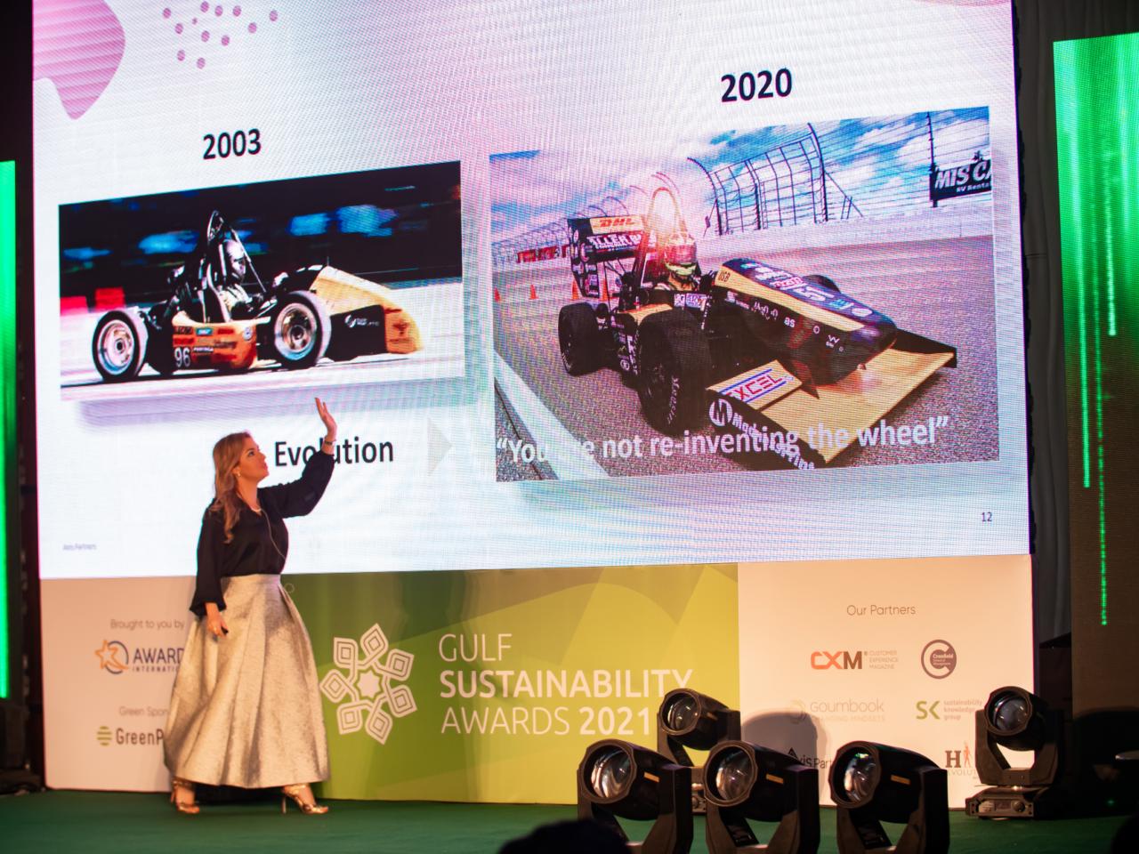 Renata Liuzzi talks at the GSA 2021 live event.