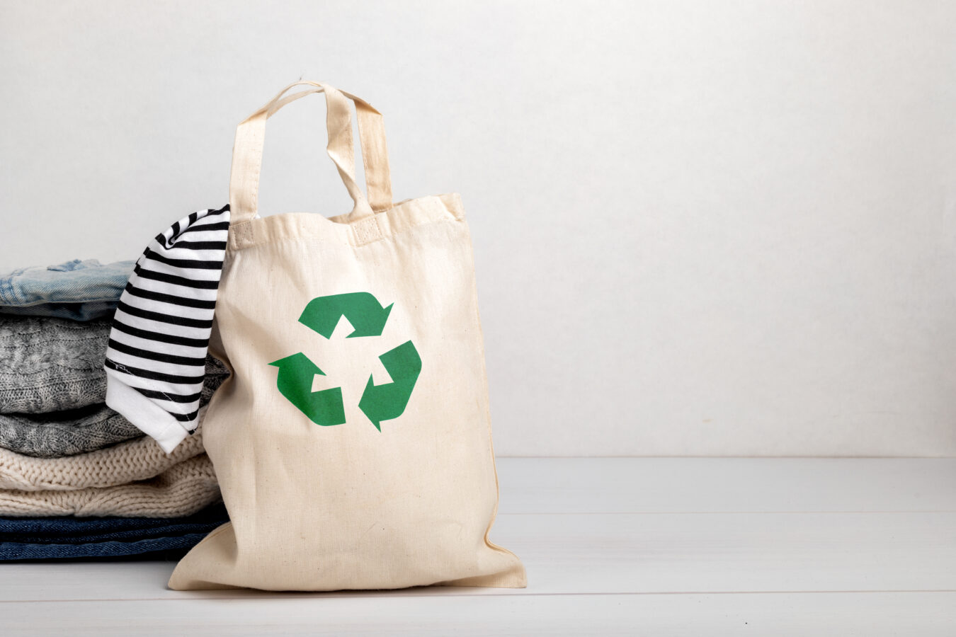 an image showing sustainable clothing